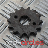 20mm PITBIKE / ATV FRONT SPROCKET - 14 TOOTH / 428 PITCH
