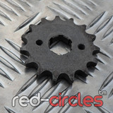 20mm PITBIKE / ATV FRONT SPROCKET - 15 TOOTH / 428 PITCH