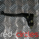PITBIKE CLUTCH LEVER & PERCH - BLACK
