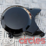 PITBIKE / ATV STATOR CASING - BLACK (NO SPROCKET COVER)