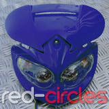 PITBIKE HEADLIGHT UNIT - BLUE