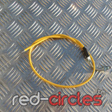 VENHILL ANGLED THROTTLE CABLE - YELLOW