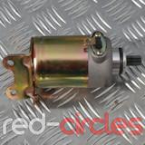 APRILIA, LEONARDO, JINLUN, JONWAY 125cc STARTER MOTOR - SM02