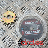 TALON 17mm PITBIKE / ATV FRONT SPROCKET - 14 TOOTH / 420 PITCH