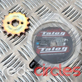 TALON 17mm PITBIKE / ATV FRONT SPROCKET - 15 TOOTH / 420 PITCH