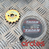 TALON 17mm PITBIKE / ATV FRONT SPROCKET - 16 TOOTH / 420 PITCH