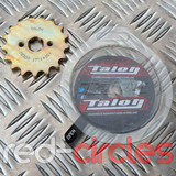TALON 17mm PITBIKE / ATV FRONT SPROCKET - 17 TOOTH / 420 PITCH