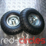 "10"" INCH PNEUMATIC SACK TRUCK WHEELS (PAIR)"