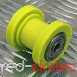 8mm CHAIN ROLLER - YELLOW