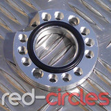 CNC PITBIKE / ATV CARBURETTOR SPINNER PLATE - SILVER