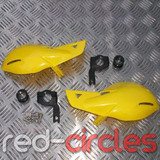 PITBIKE / ATV HAND GUARDS - YELLOW
