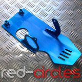 PITBIKE SUMP GUARD - BLUE (ELECTRIC START)