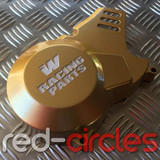 WHOOP (W) RACING PITBIKE STATOR COVER - GOLD
