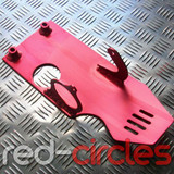 PITBIKE SUMP GUARD - RED (ELECTRIC START)