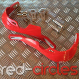 28mm W RACING SUPERMOTO HANDGUARDS - RED