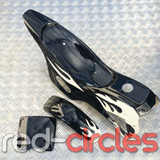 MINI DIRT BIKE PLASTICS KIT - BLACK / WHITE