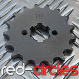20mm PITBIKE / ATV FRONT SPROCKET - 17 TOOTH / 428 PITCH