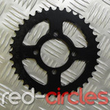 CLASSIC PITBIKE REAR SPROCKET - 39 TOOTH / 428 PITCH (BLACK)