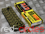 D.I.D. GOLD PITBIKE CHAIN - 134 LINK / 428 PITCH