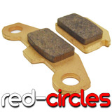 SINTERED MAHLER PIT BIKE BRAKE PADS (1171 STYLE)