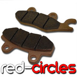 SINTERED MAHLER BRAKE PADS (TYPE 6)