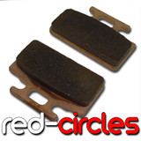 SINTERED MAHLER BRAKE PADS (TYPE 7)