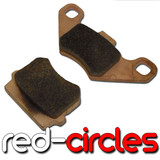 SINTERED MAHLER BRAKE PADS (PB218)
