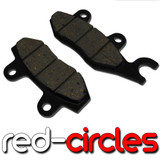 TWIN POT BRAKE PADS (HOOK TYPE)
