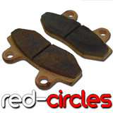 SINTERED MAHLER PIT BIKE BRAKE PADS (TYPE B)