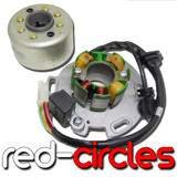 LIFAN 150 ADJUSTABLE STATOR AND FLYWHEEL IGNITION KIT