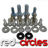 CRF50 PLASTICS FITTING KIT / BOLTS