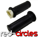 PW50 GRIPS / THROTTLE TUBE