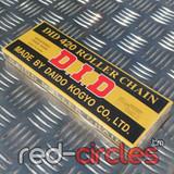 D.I.D BLACK PIT BIKE CHAIN - 120 LINK / 428 PITCH