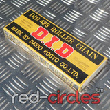 D.I.D BLACK PIT BIKE CHAIN - 104 LINK / 428 CHAIN
