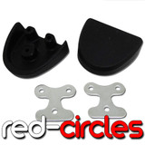 SUPERMOTO FOOTPEG PLASTICS COVERS
