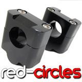 BLACK 28mm FATBAR RISERS