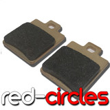 SINTERED MAHLER BRAKE PADS (TYPE 8)