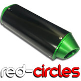 GREEN CNC 38mm PIT BIKE EXHAUST SILENCER