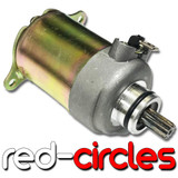 SUZUKI ADDRESS 50, KATANA AY50, ZILLION 50 STARTER MOTOR