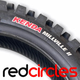 KENDA MILLVILLE II REAR TYRE - SIZE 80/100-12