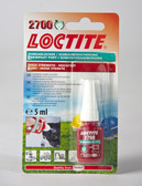 Loctite 2700 OEM Specified High Strength Threadlocking Adhesive 5ml
