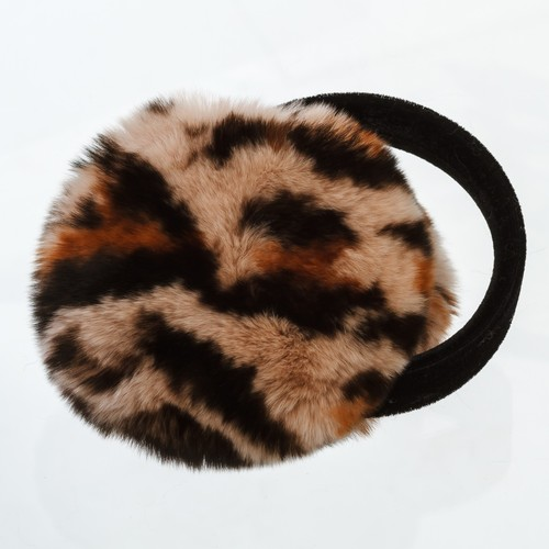 Rex Rabbit Fur Earmuff with Velvet Band