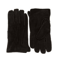 Men's Shearling(Sheepskin) Dress Gloves in Black