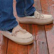 Adult Sheepskin Moccasin Slippers