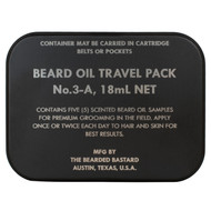Beard Oil Travel Pack