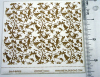 Birds in Branches Laser Paper - Rolling Mill Pattern - Shop Metal Designz
