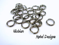 """Niobium Jump Rings 20 gauge 5/32"""" id."""