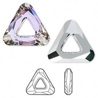 Triangle Swarovski Crystal