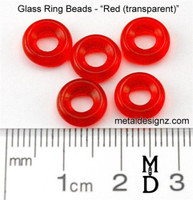 9mm Glass Beads