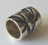 Sterling Bamboo Tube